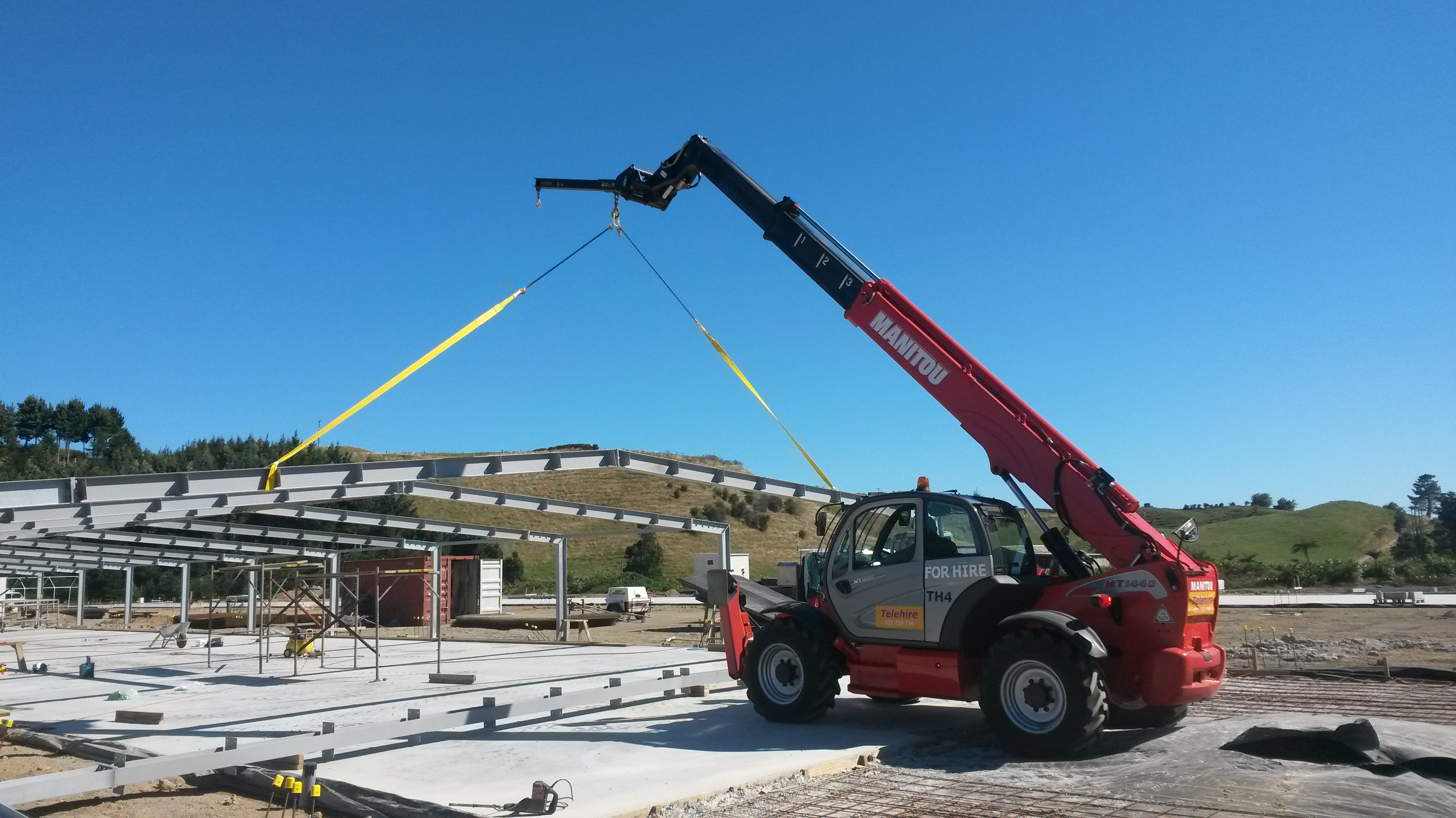 Telehandlers(Crane) Excavator/Diggers Hire in New Plymouth
